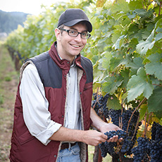 Photograph of Boyd Morrison - Winemaker for MacMurray Estate Vineyards