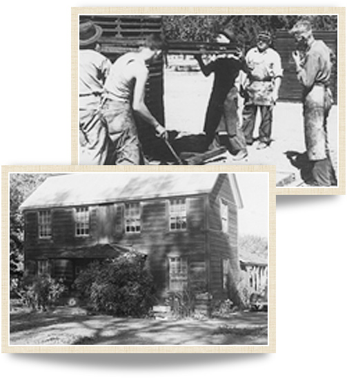 Historical photographys of MacMurray Estate Vineyards from 1954