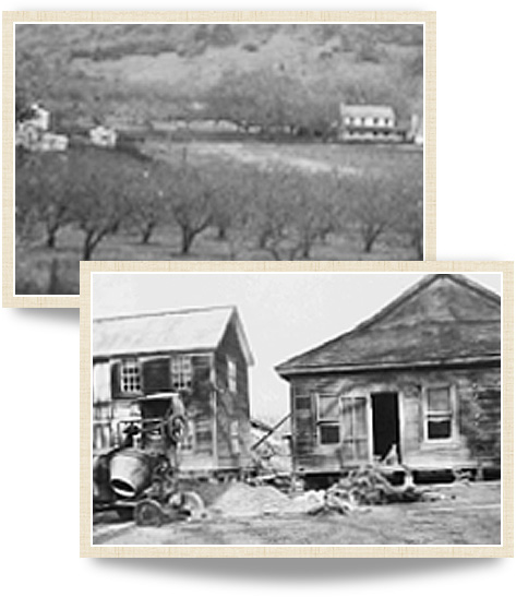 Historical photographys of MacMurray Estate Vineyards from 1941