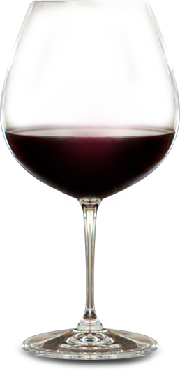 Glass of Pinot Noir from MacMurrage Estate Vineyards