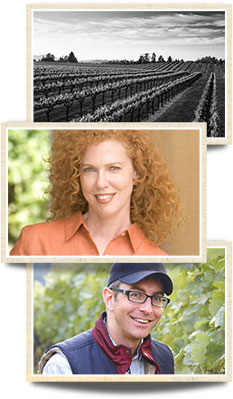 Kate MacMurray and Boyd Morrison from MacMurray Estate Vineyard